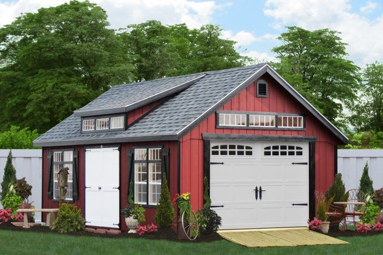 Pin by Marco on Sheds Detached garage cost, Shed