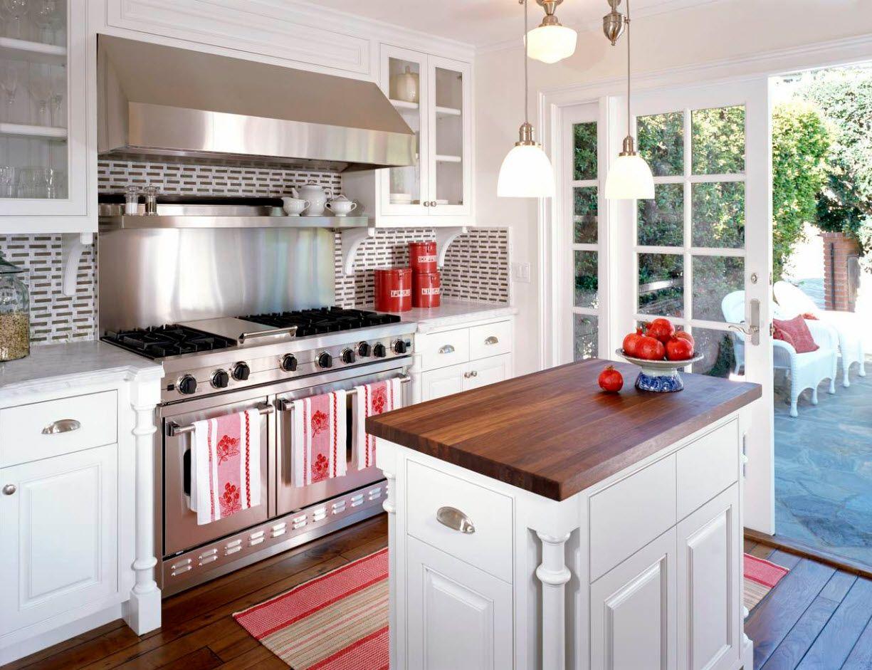 Raumideen über küchenschränken küche mit einer fläche von  quadratmetern m  tatsächliches design
