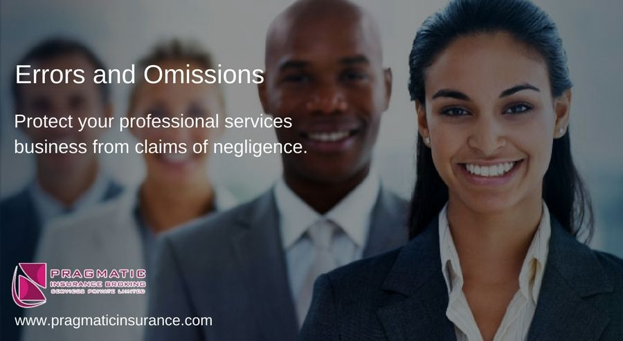 Errors and omissions protect your professional services
