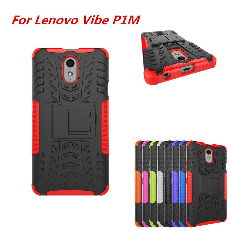 competitive price 214aa e4d8c Super Saver Double Silicon Armor Case For Lenovo Vibe P1m P1ma40 ...