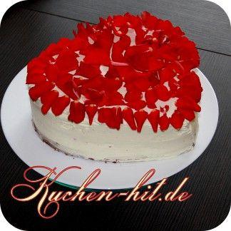 Rezept Fur Eine Red Velvet Torte Aus Amerika Kuchen Kuchen