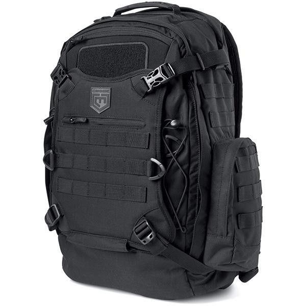 Phalanx Full Size Duty Pack w-Helmet Carry, Black