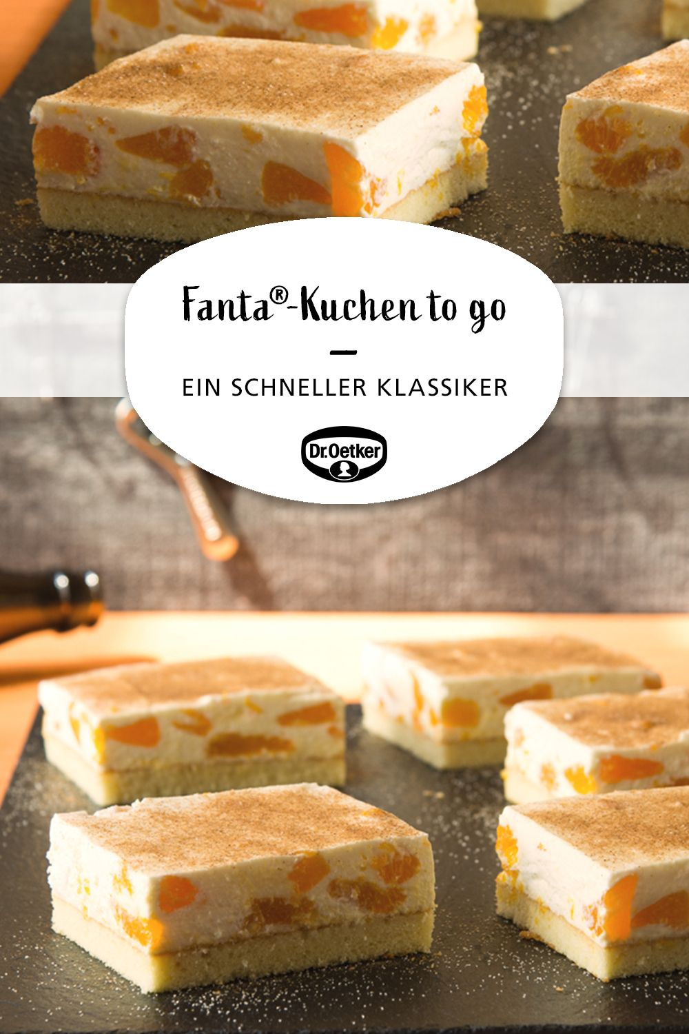 Fanta®-Kuchen to go #frostings