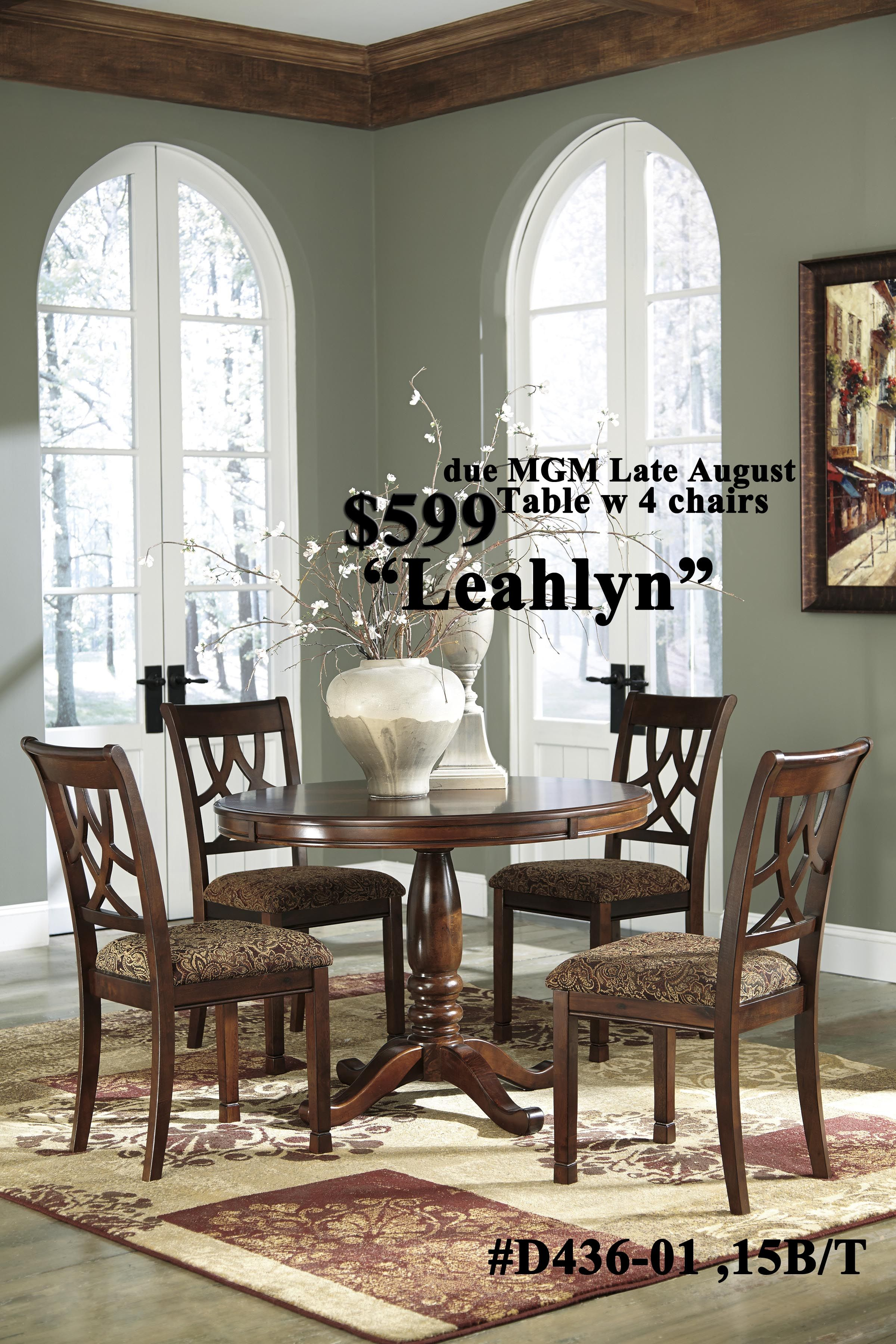 Lealyn Dining Round Dining Room Dining Room Sets Dining Table