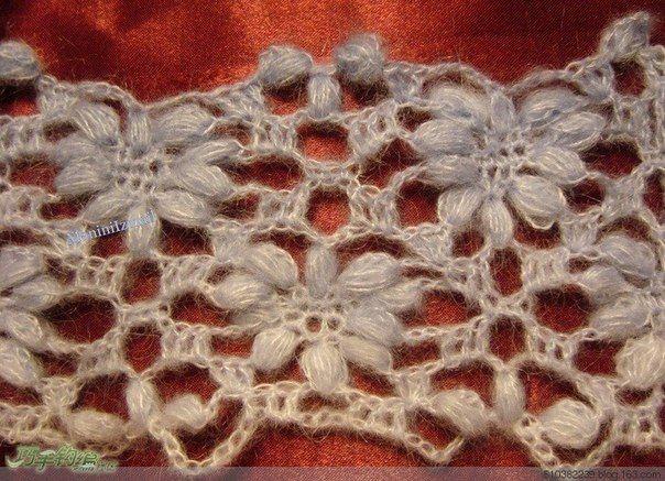 Crochet flower stitch mohair .. Discussione sulla LiveInternet - Servizio russo diari online