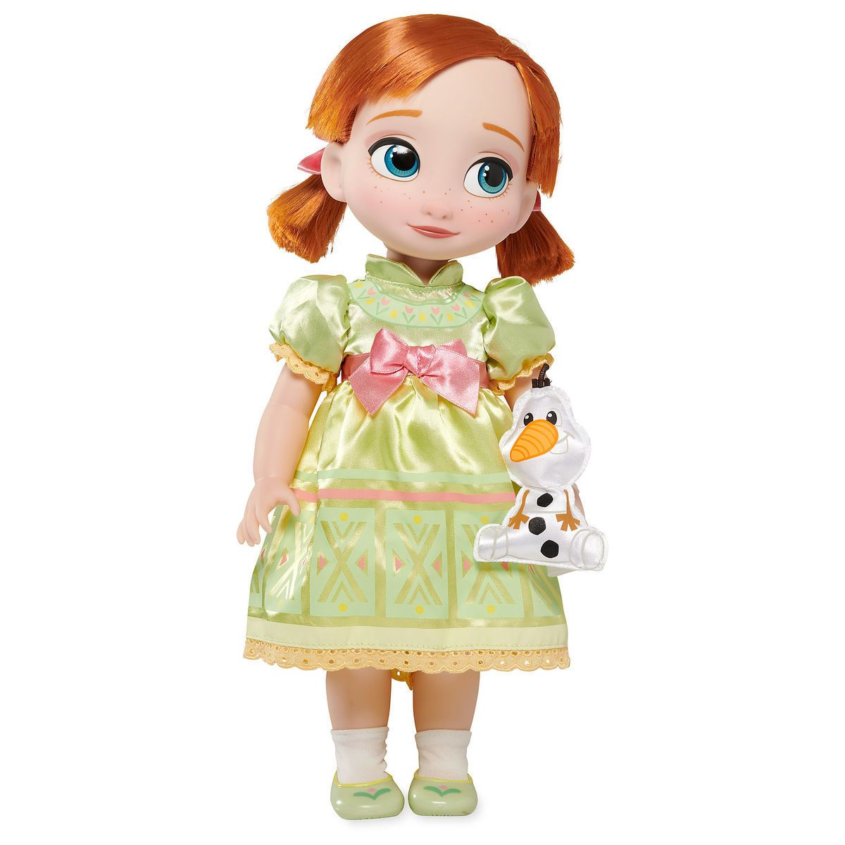 "BRAND NEW Disney Store Frozen Anna Plush 16/"" inches Soft Doll"
