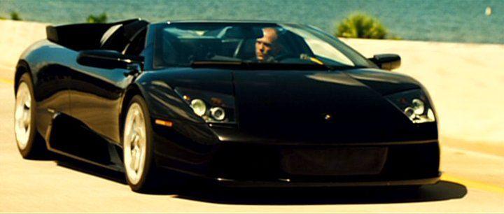 Lamborghini Murcielago Roadster driven by Jason Statham in the movie
