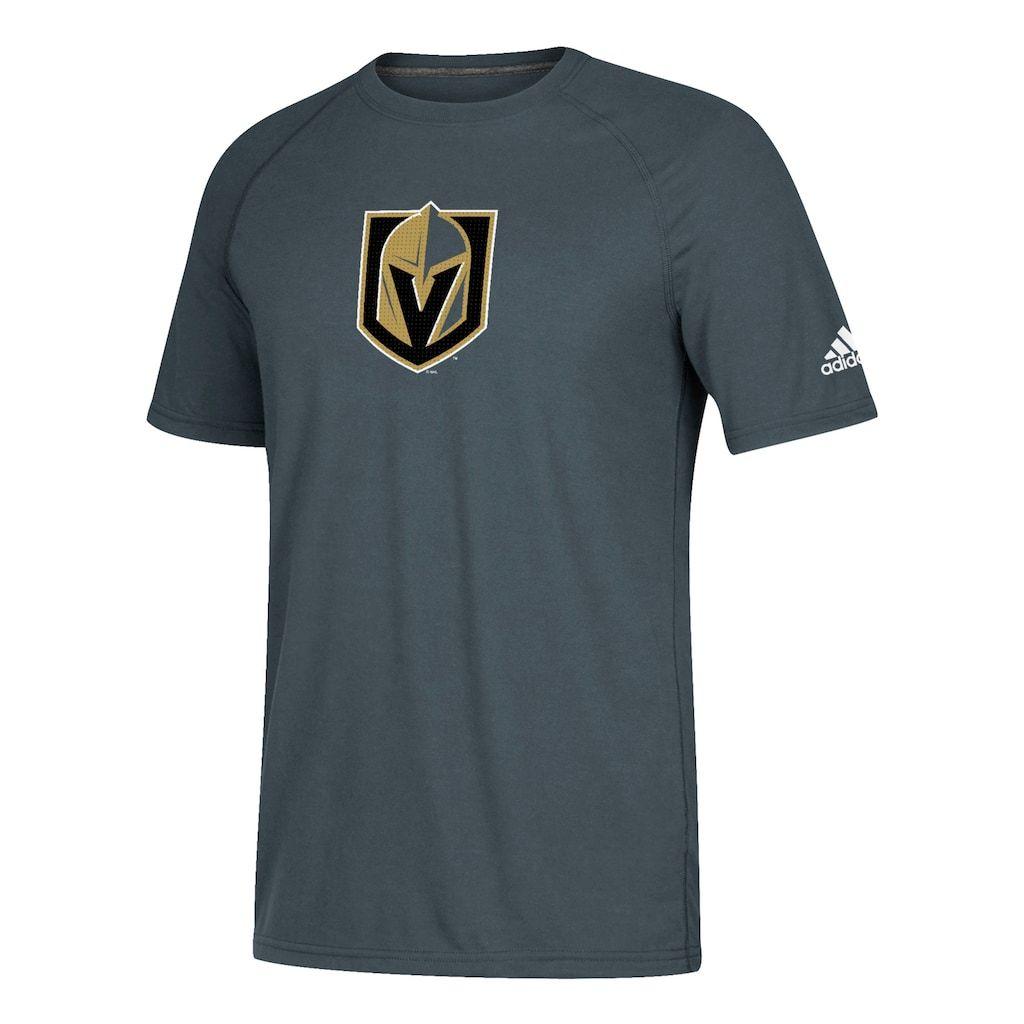 0c5ff2853ff80 Men s adidas Vegas Golden Knights Logo Tee