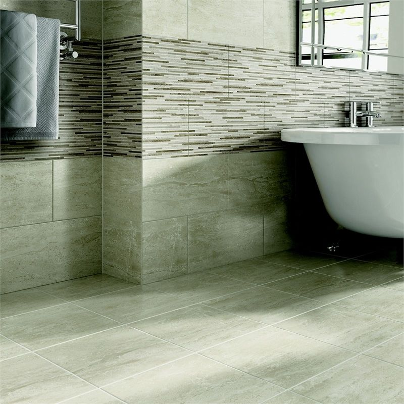 Find Ambleside Grey Ceramic Floor Tile 330 X 330mm At Homebase