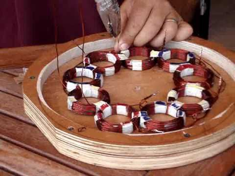 How to build a homemade stator for a P M A generator (wind