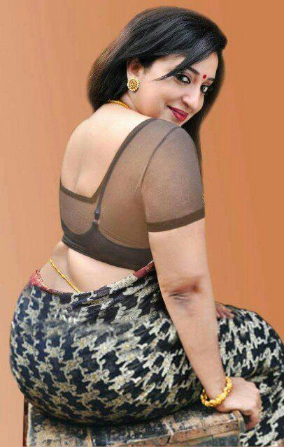 desi back model indian aunty side imge