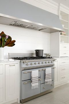 Nantucket Bijoux - beach-style - Kitchen - New York - threshold interiors Lacanche Chagny Range