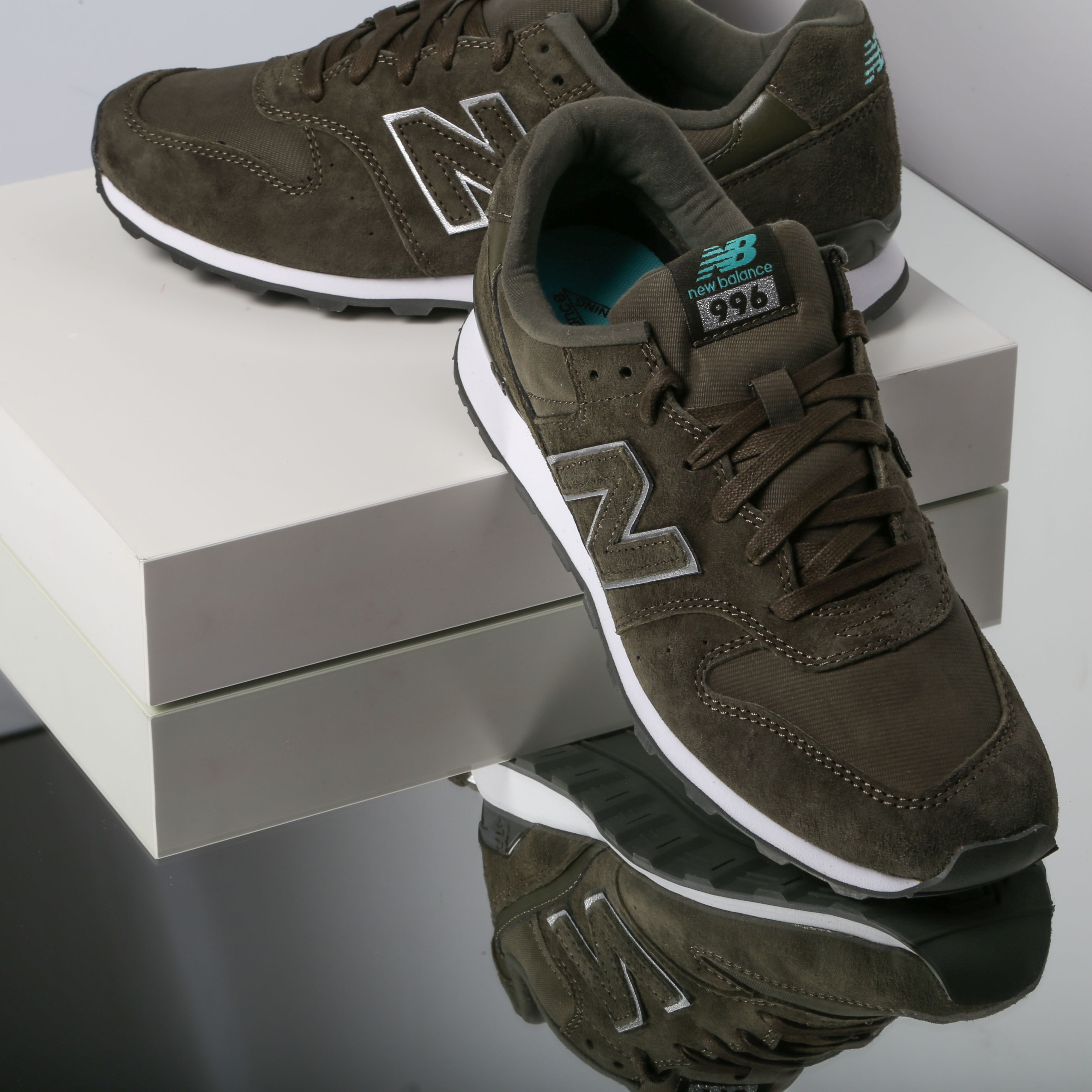 new balance suede 996 mujer
