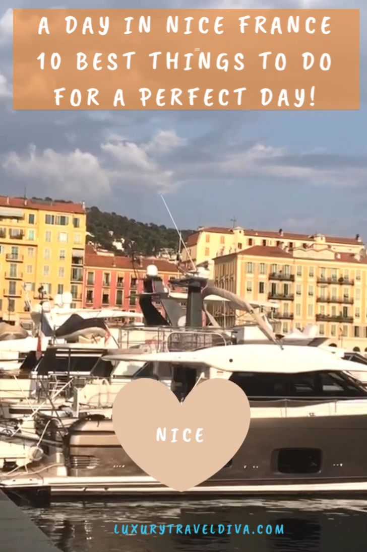A perfect day in Nice? Read my blog post for the details. Favourite restaurants by a regular visitor. The Port, Promenade des Anglais, flower market and Nicoise specialities to try! #Nice #cotedazur #france #travel