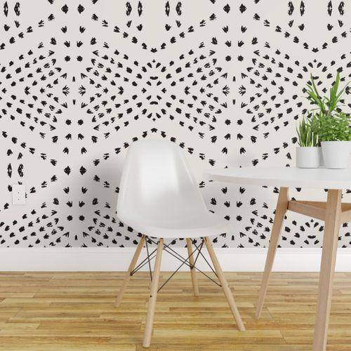 Boho Tile Large Spoonflower Boho Tiles Peel And Stick Wallpaper Bohemian Wallpaper