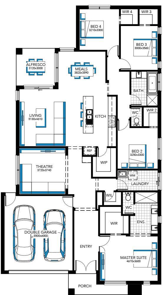 Floorplan 27 House Plans House Design