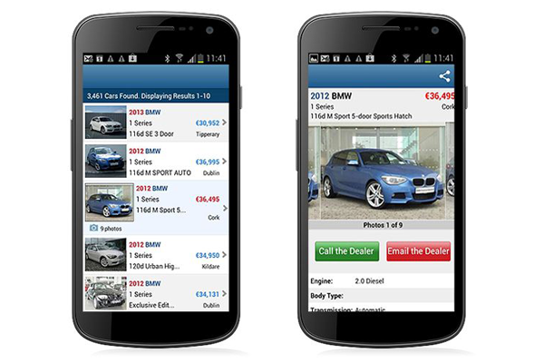 Search Used and New Cars: Carzone.ie is Ireland's number one online tool to research on used cars. It has over 720,000 monthly users, who carry out over 35 million searches a month for used cars. Carzone.ie works with Ireland's franchise and independent car dealers, and private sellers, to provide the biggest online showroom of used cars in the country. Over 60,000 used cars are listed on the site.