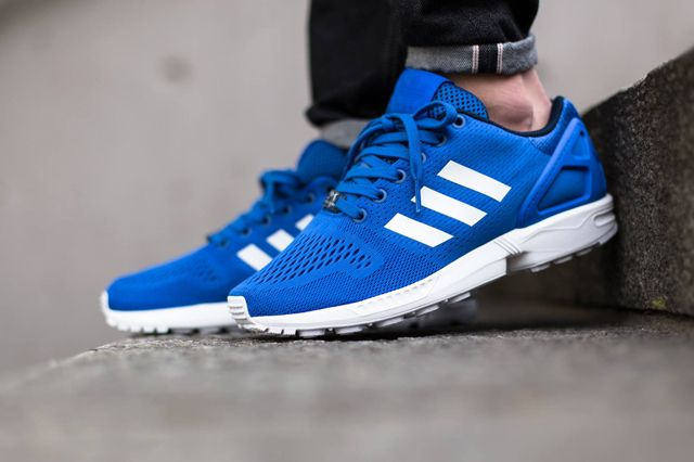 desconectado Contagioso cocaína  ADIDAS ZX FLUX (STRONG BLUE) - Sneaker Freaker | Stylish sneakers, Adidas zx,  Sneakers fashion