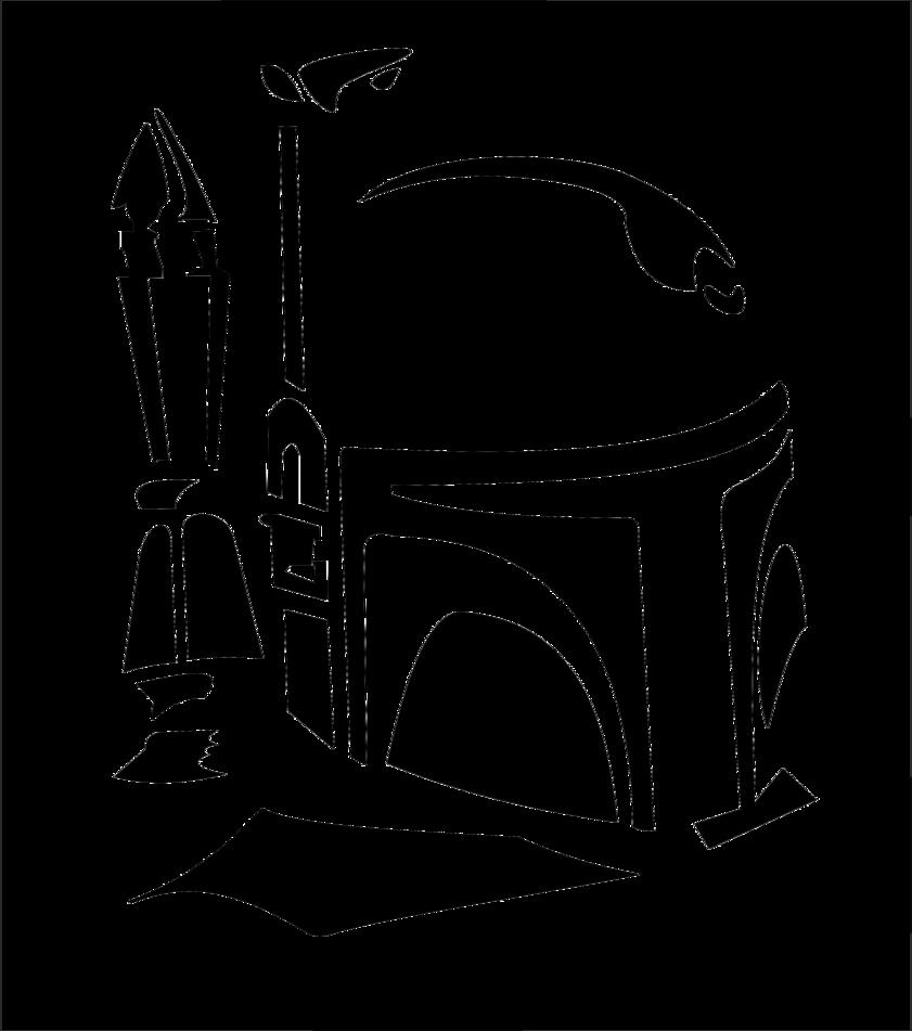 boba fett svg free Google Search Star wars stencil
