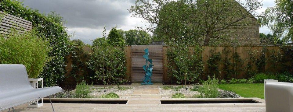 Millboard Deck With Rill Garden Design Outdoor Decor Design