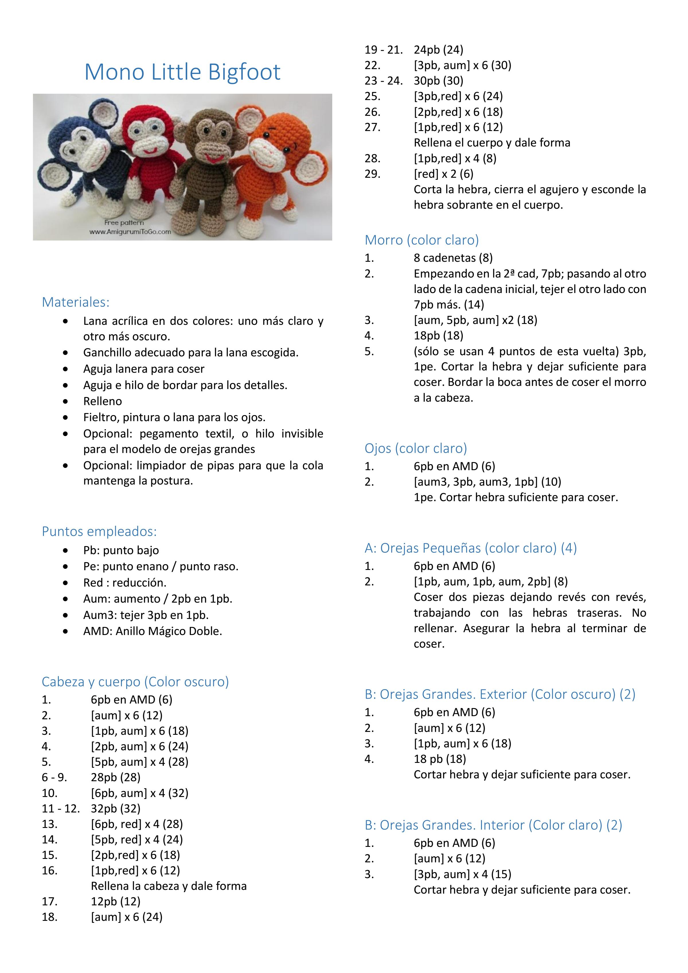 Página 1 de 2 | amigurumis | Pinterest | Amigurumi, Crochet and ...