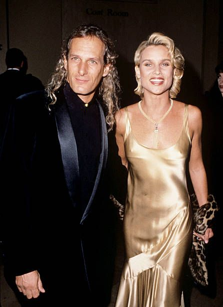 Michael Bolton and Nicollette Sheridan during Michael ...