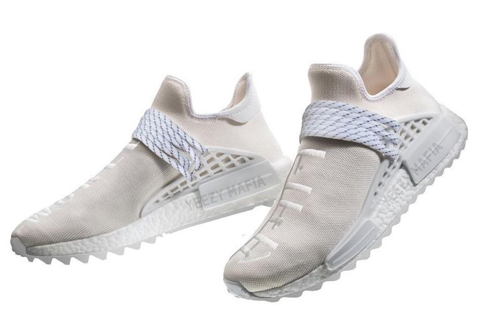 90ff92bd88a56 Pharrell and adidas are coming off one of the busiest Saturdays in recent  memory as they released five new colorways of the incredibly popular NMD  Human ...