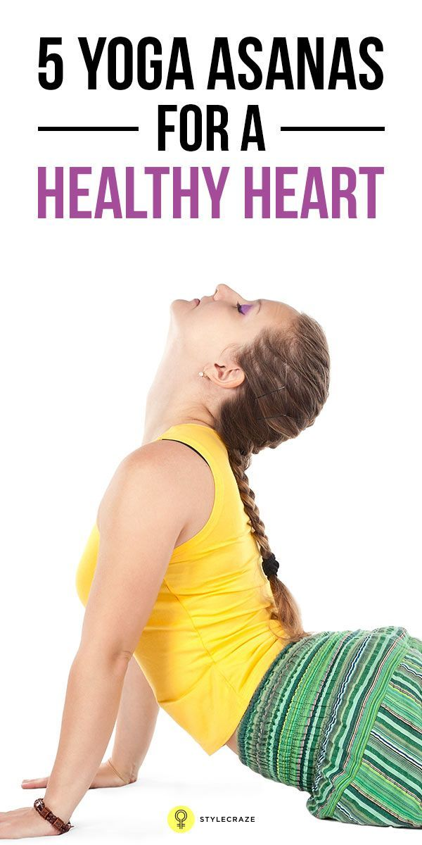 Along with a healthy diet  lifestyle practicing yoga helps to keep the heart healthy Learn the poses of yoga for heart health They would  Health Top 5 Yoga Asanas For A H...