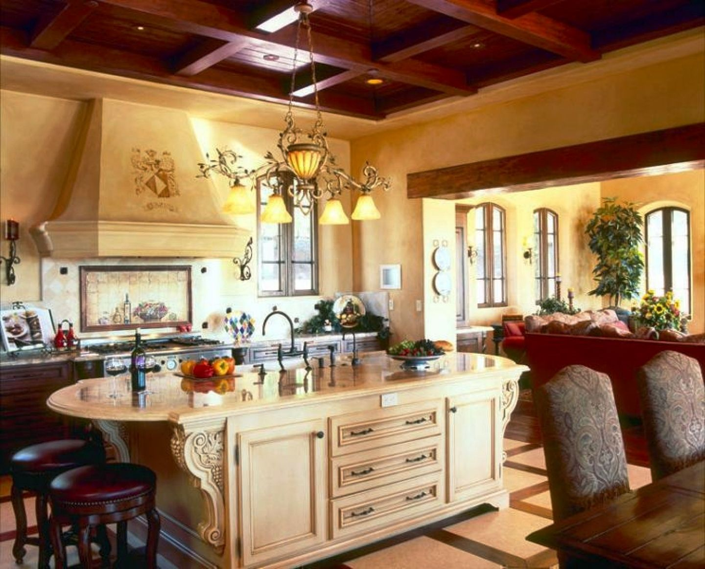 Tuscan Kitchen Ideas On A Budget Tuscan Mediterranean European