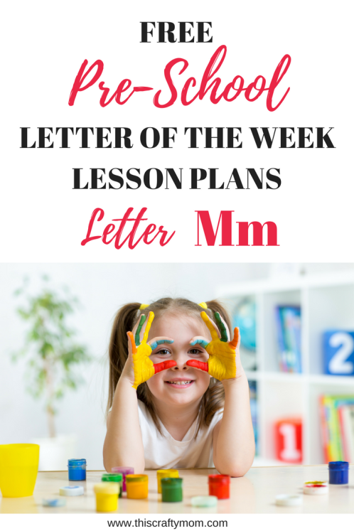 Photo of Letter M – Free Preschool Weekly Lesson Plan – Letter of the Week