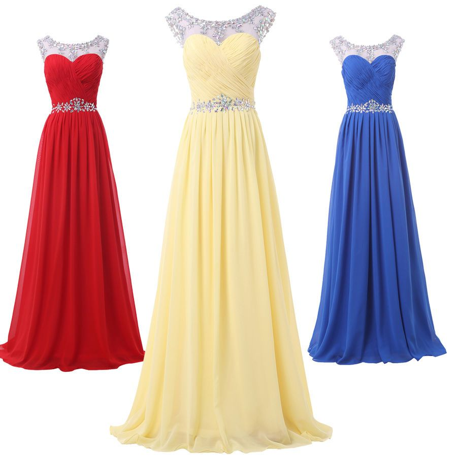 Cool awesome cheaplong chiffon evening formal gown party cocktail