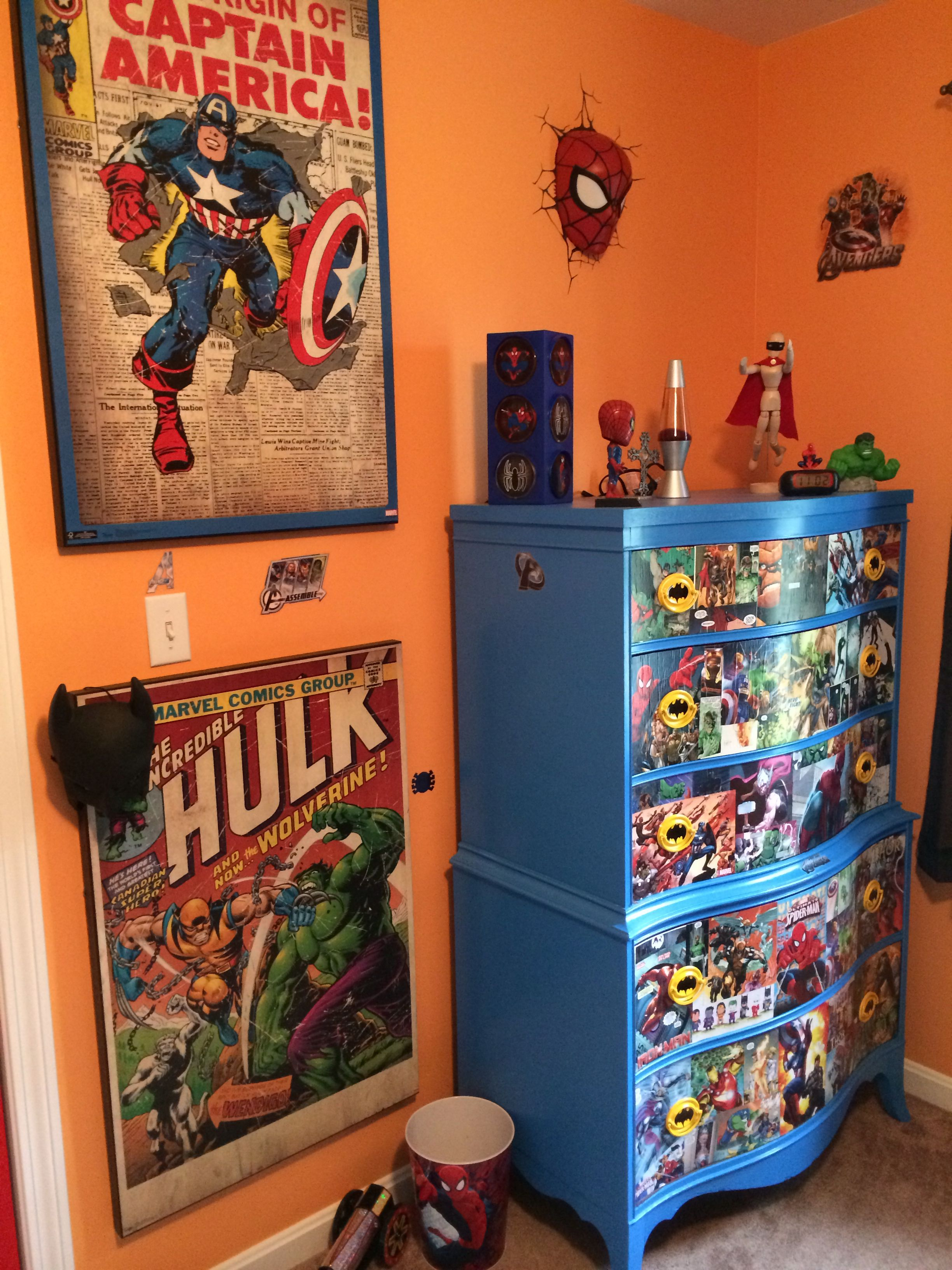 super hero dresser jaxon pinterest room room themes and rh pinterest com