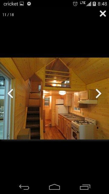 inside view tiny portable houses portable cabins cabin loft rh pinterest com