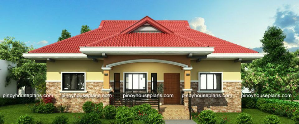 Pinoy House Plans Plan Your House With Us One Storey House Philippines House Design Modern Bungalow House Design
