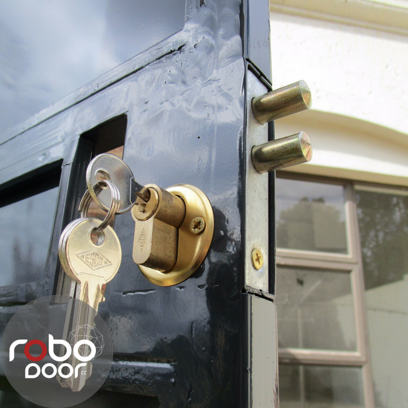 Pin Lock Type Of Security Gate By Robo Door Security Gates Gate
