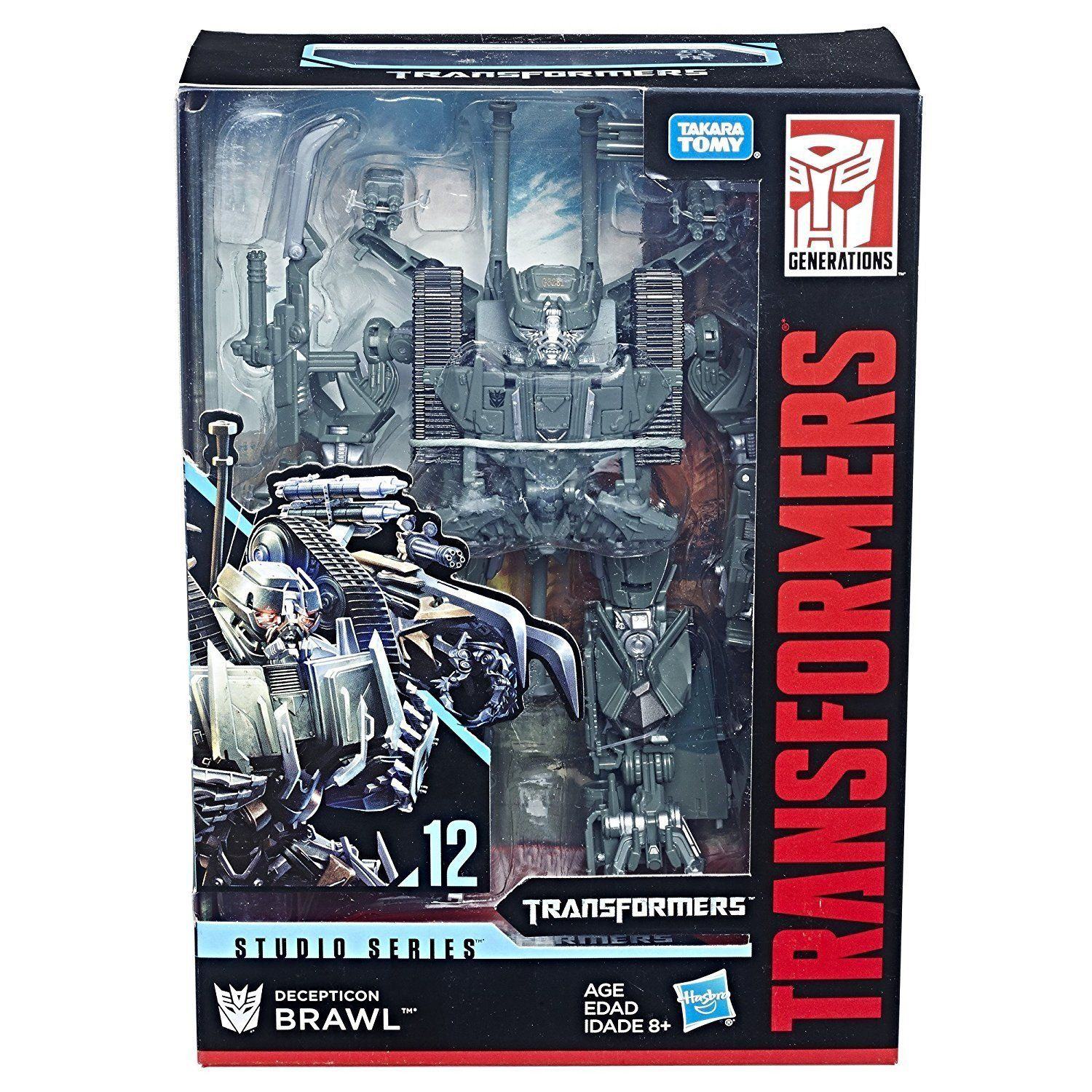 2 PCS Transformers Studios Series Voyager Wave 2 Decepticon Brawl and Megatron