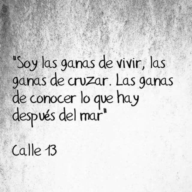 La Vuelta Al Mundo Calle 13 Frases De Canciones Calle 13