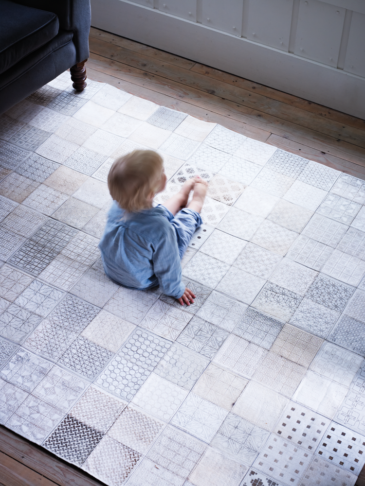 Cow Hide Patchwork Rug Unique Lasting And Luxurious This Fabulous Geometric Is Made Up Of A Handcrafted Natural Cowhide Tiles