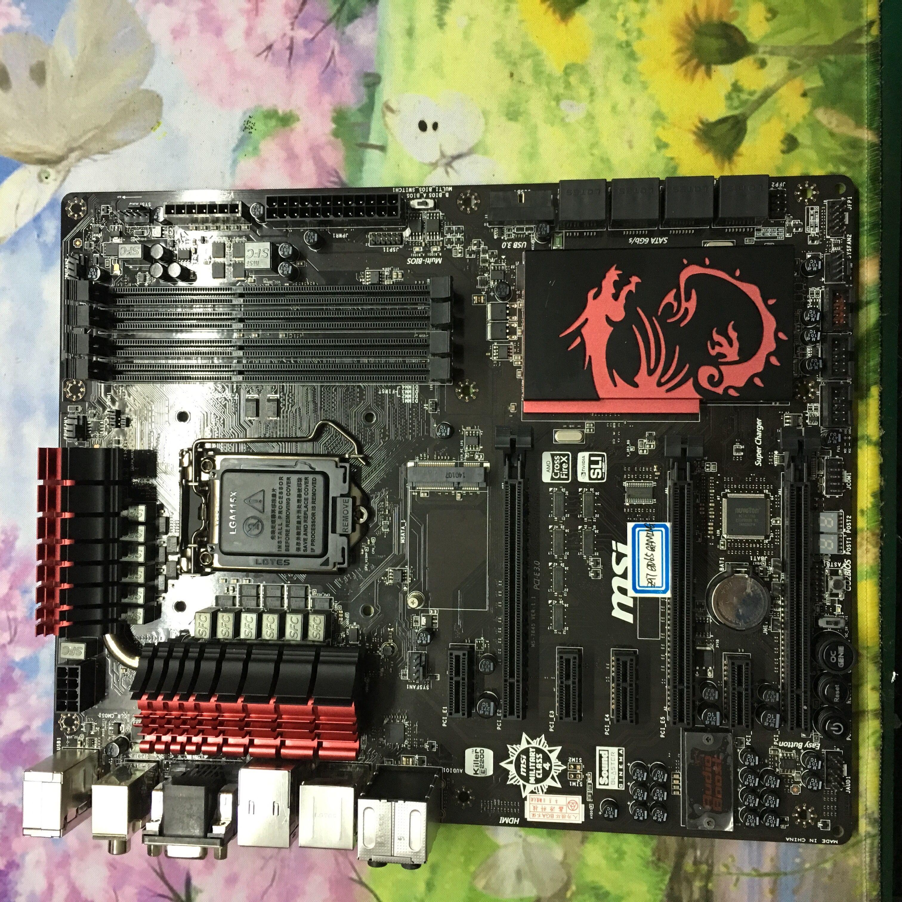 MSI Z97-GD65 GAMING killer card 1150 pin Z97 motherboard support I7
