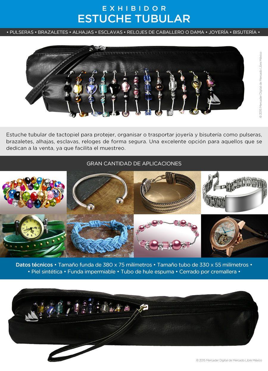 9b227e6e6df6 Estuche Exhibidor Tubular Para Pulseras Relojes Envío Gratis -   219.00 en Mercado  Libre