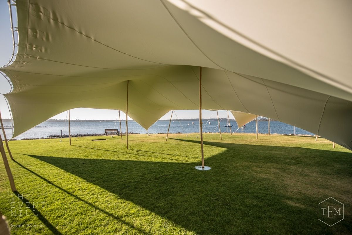 The Event Mill Bedouin Stretch Tent #bedouin #stretch #tent #marquee #shelter #shade #wedding #engagement #party #festival #event #hire #perth & The Event Mill Bedouin Stretch Tent #bedouin #stretch #tent #marquee ...