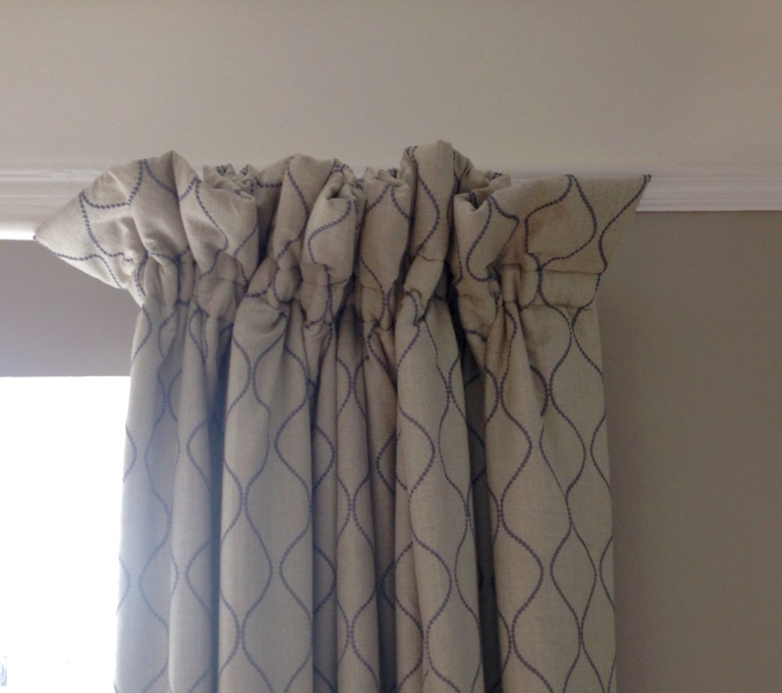 Cottage Heading With 4 Frill And 1 5 Tape Curtains Curtain