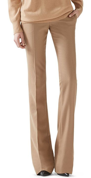 GUCCI Wool flare-leg pants found on Nudevotion