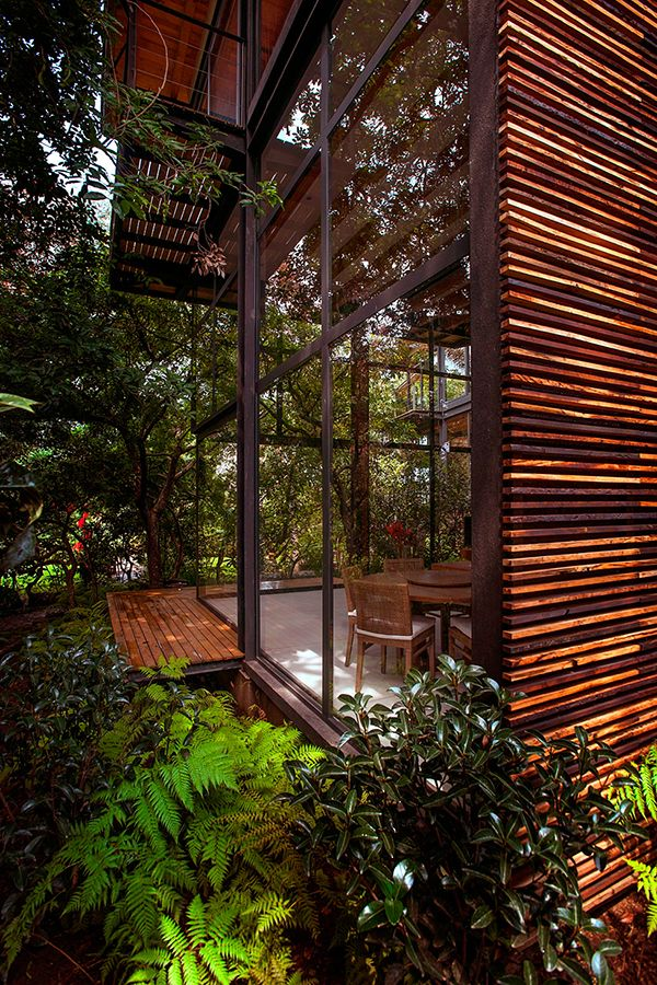 Vegetation and Open Space | glass house
