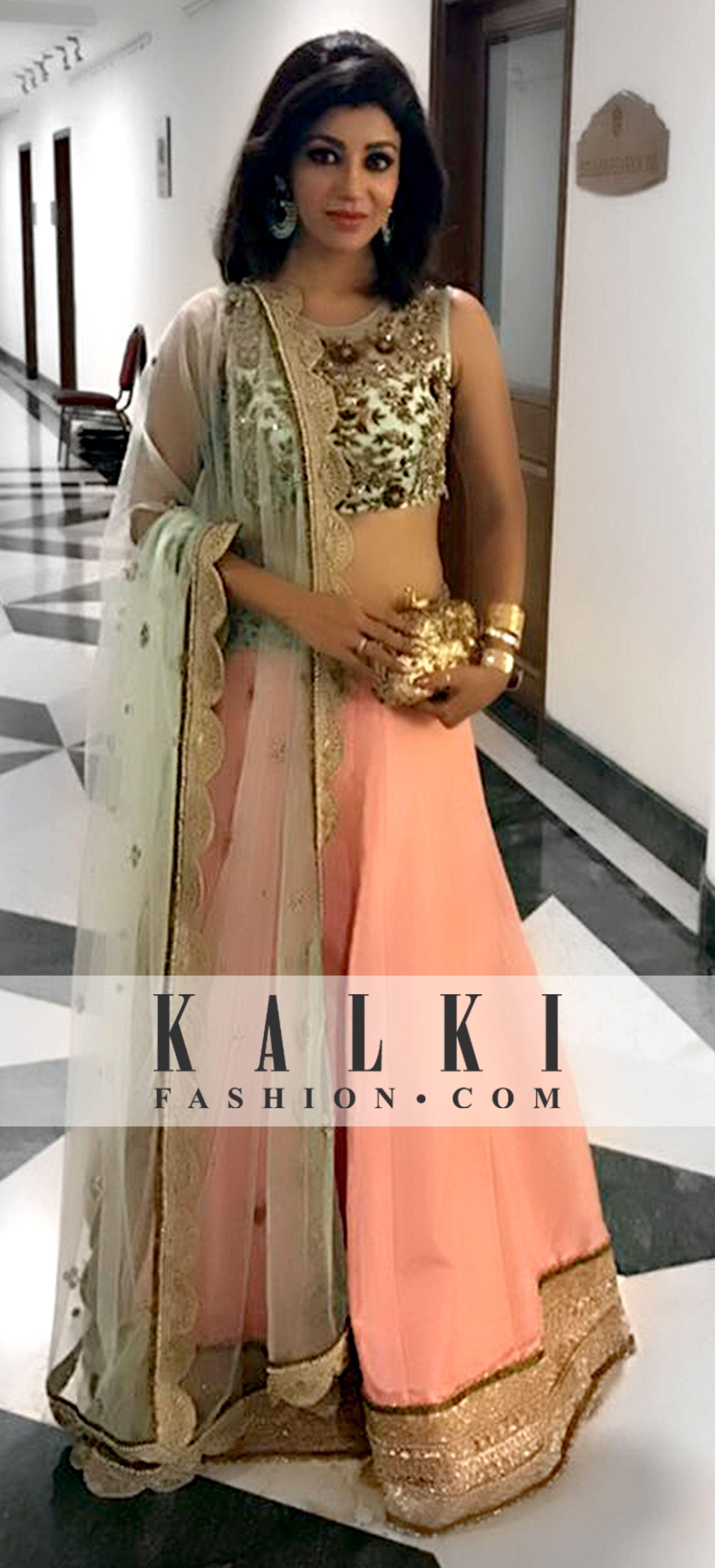 Debina Bonnerjee Kalki Celebrity Favourite Styles Pinterest Jfashion Etchnic Long Tunik Fashion Elegan Shareen Indian Suits Wear Bollywood Style Clothes
