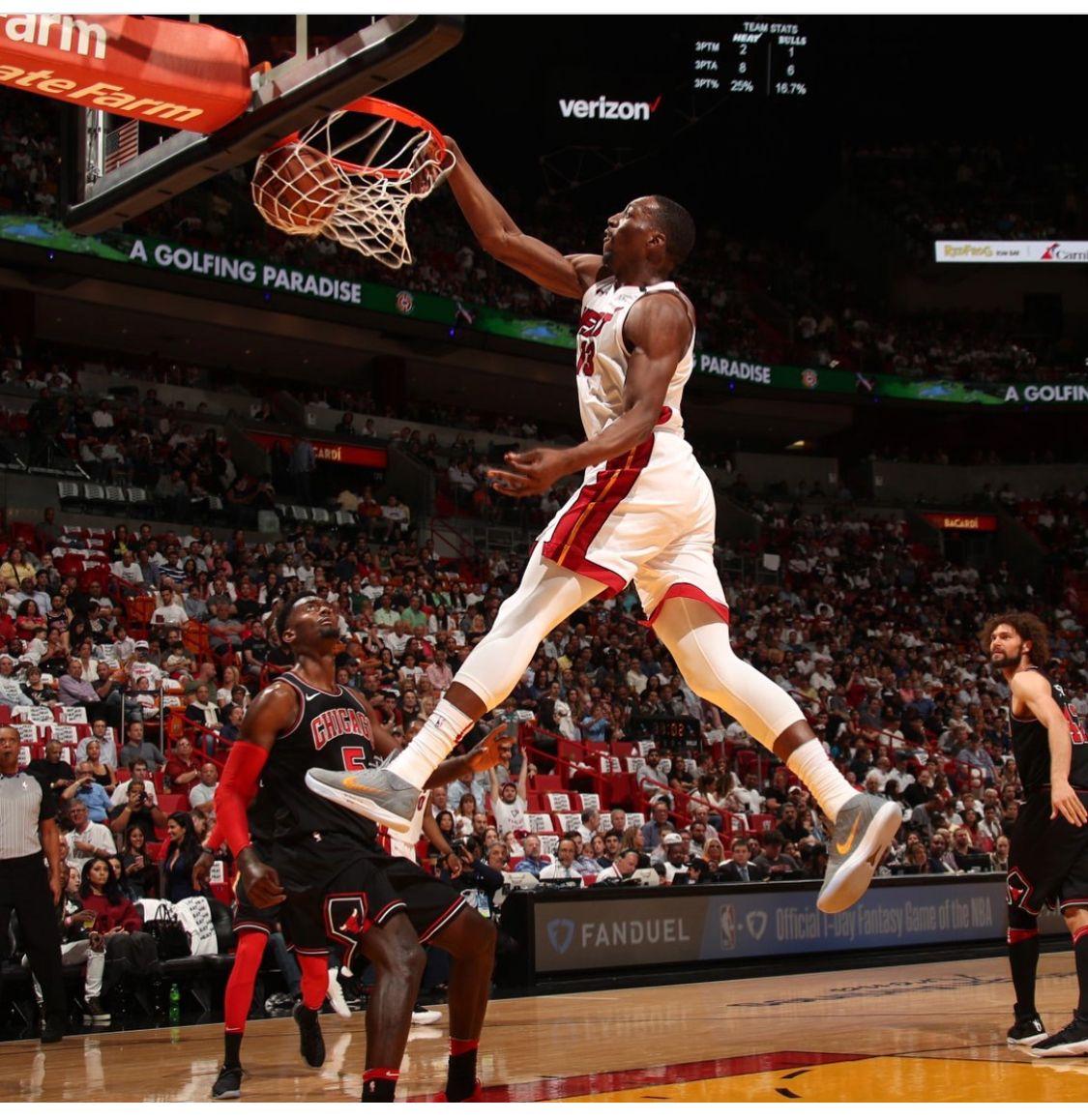 Bam Adebayo Miamiheat 2018 Miami Heat Kelly Olynyk Miami