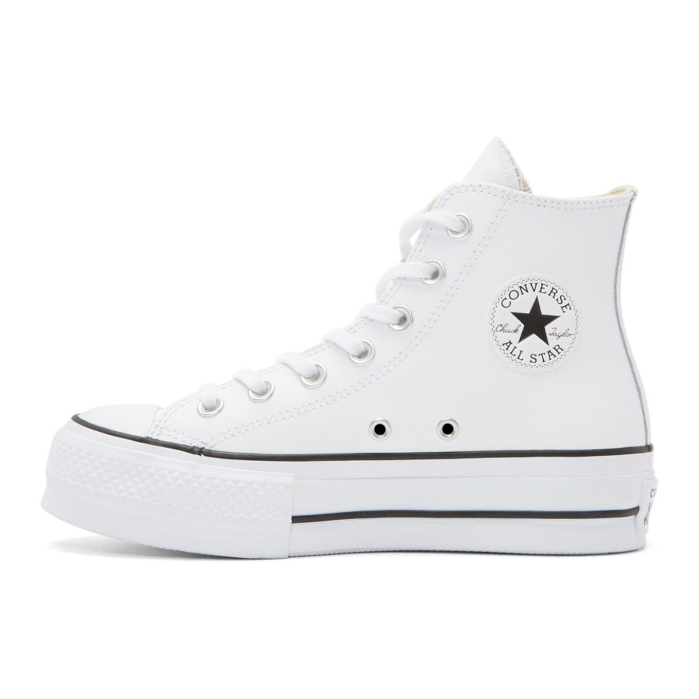 f552e1214f9e6 Converse - White Chuck Taylor All-Star Lift High-Top Sneakers ...