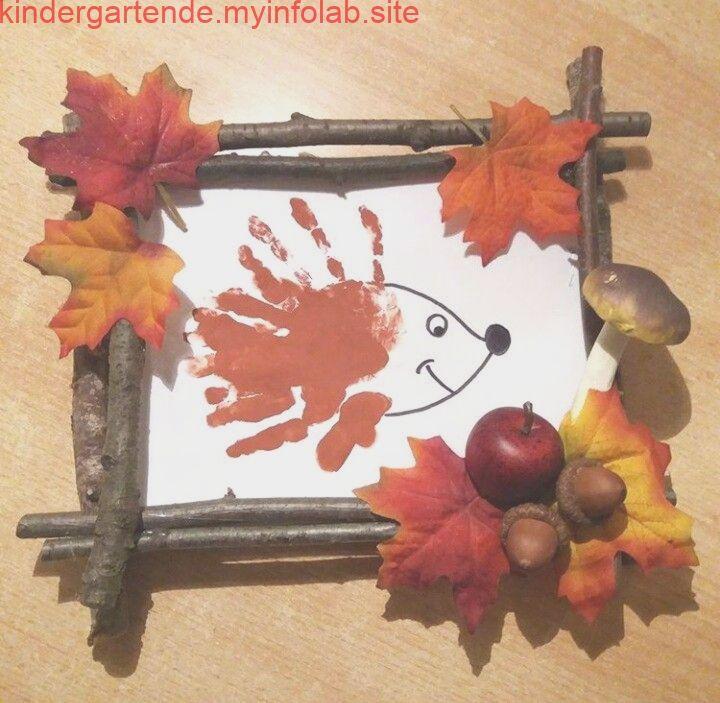 Herbstbastelei  #bastelnmitkindern notes2.dogstyle.gq/ - #bricolageautomne