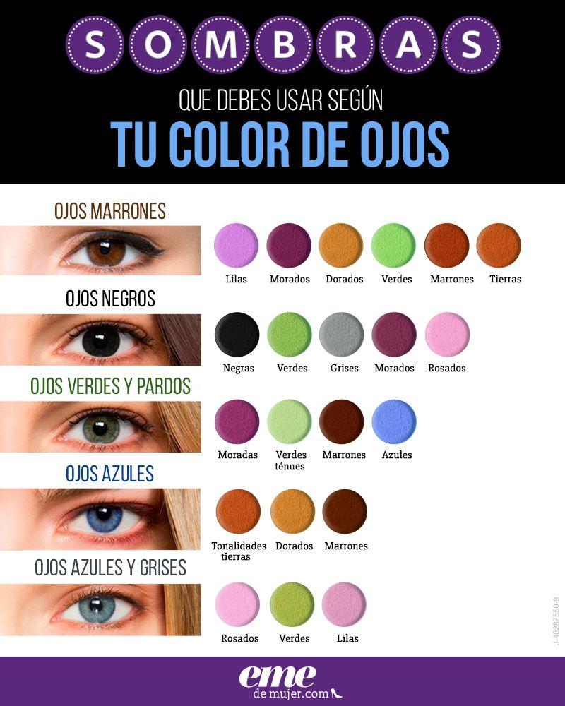 #PostEmeDelDía: Elige la sombra adecuada según tu color de ojos #CosasDeMujeres #MakeUp