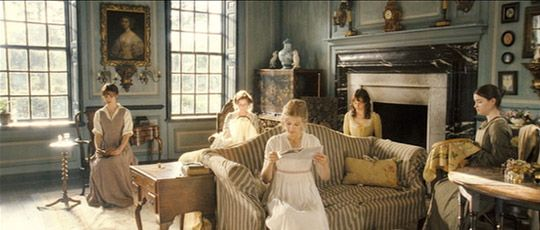 on the set: pride & prejudice | apartment therapy, apartments and